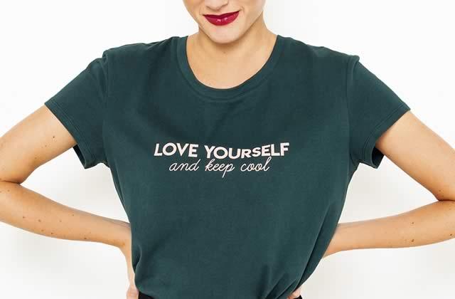 Des t-shirts et sweats à messages positifs pour te booster le moral