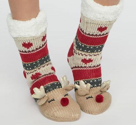 chaussettes rennes noel