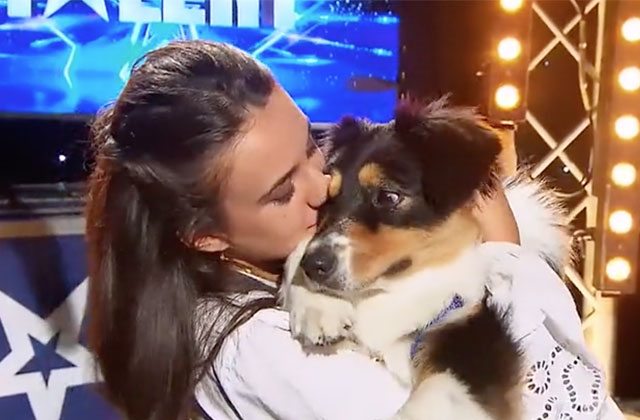 Cette chienne et sa maîtresse ont ému le jury de La France a un incroyable talent