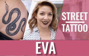 Eva Les Petits Plats, youtubeuse végane, et ses beaux tatouages