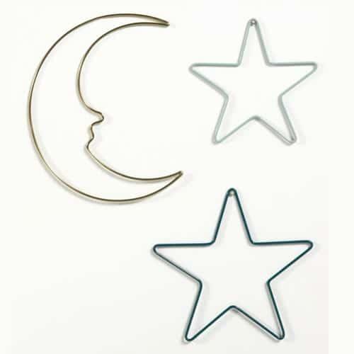 accroches murales lunes et étoiles la redoute