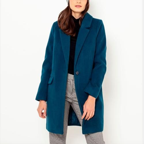 manteau long pas cher camaieu
