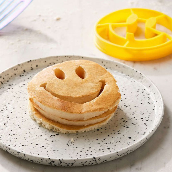moule pancakes smiley