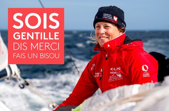 Samantha Davies, navigatrice en solitaire autour du monde!