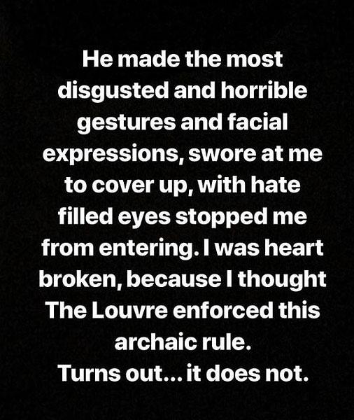 slut shaming louvre