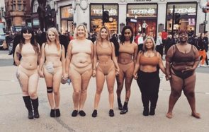 Des mobilisations devant Victoria's Secret, qui refuse le virage bodypositive