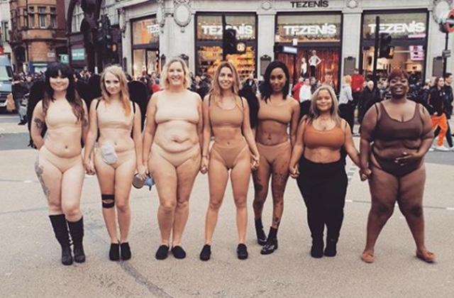 Des mobilisations devant Victoria's Secret, qui refuse le virage bodypositive