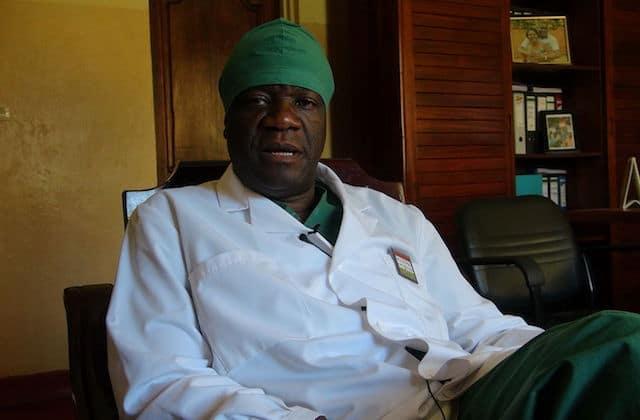 « L'homme qui répare les femmes » reçoit aujourd'hui le prix Nobel de la paix