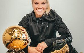Ada Hegerberg, 1er Ballon d'Or féminin, veut dépasser la polémique du twerk