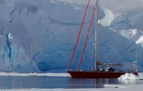 Étudiantes, nous partons en Antarctique en voilier pour observer le réchauffement climatique