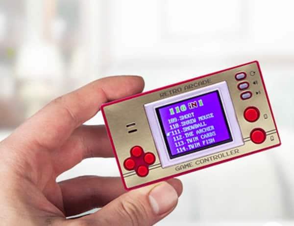 mini console rétro jeux 8 bits