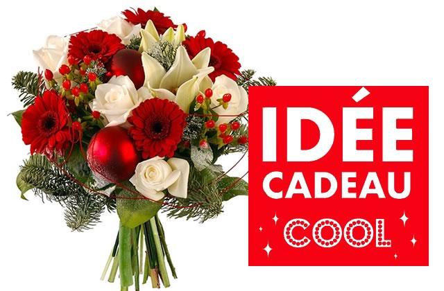 Bouquet Fleurs A Faire Livrer Pour Noel Les 24 Et 25 Decembre Chez