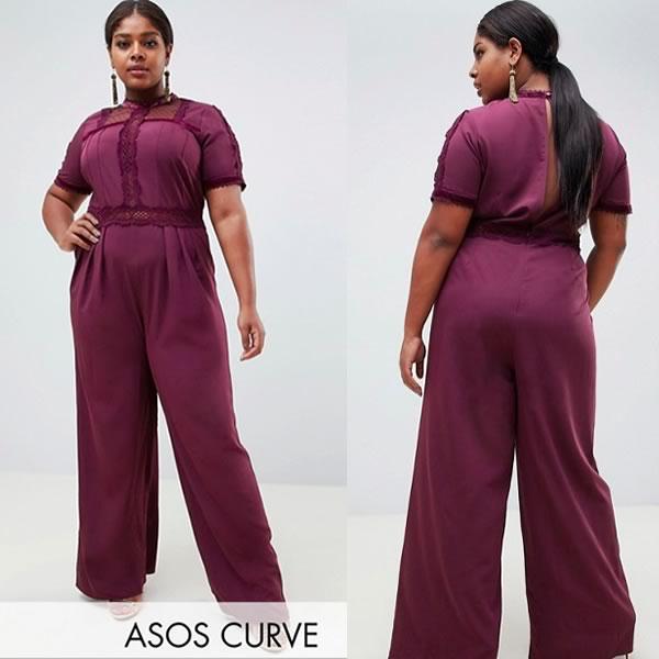 asos curve combinaison grandes tailles