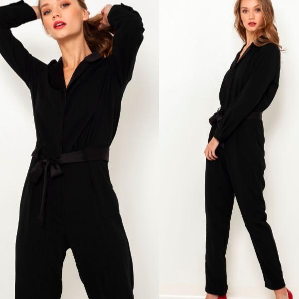 combinaison pantalon camaieu noire
