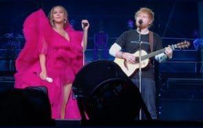Ed Sheeran en t-shirt, Beyoncé sur-sapée: le débat est lancé