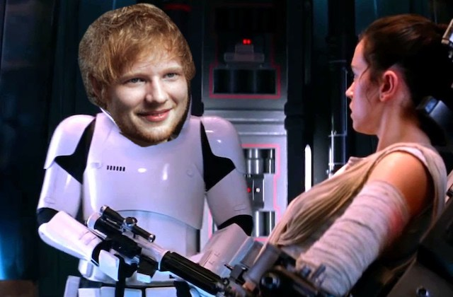 Ed Sheeran jouera dans le prochain Star Wars !