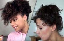 Des idées de coiffures pour cheveux mi-longs (adaptées à ton type de cheveux)