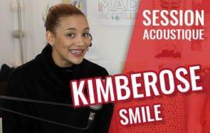 Kimberose reprend Smile, une chanson qui réchauffe le cœur