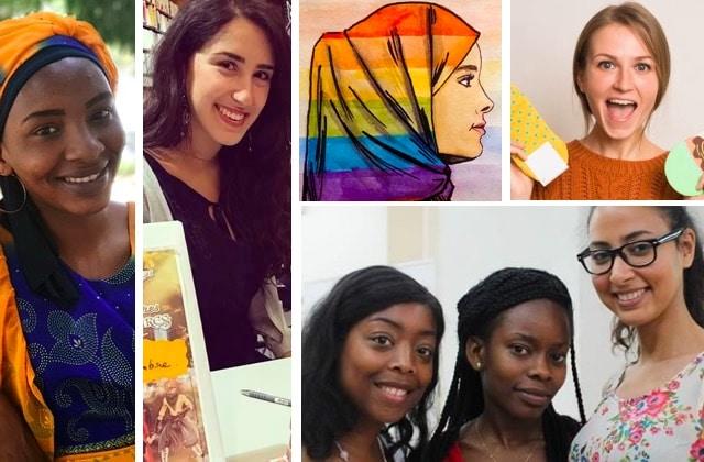 17 jeunes femmes trop inspirantes pour rester des anonymes