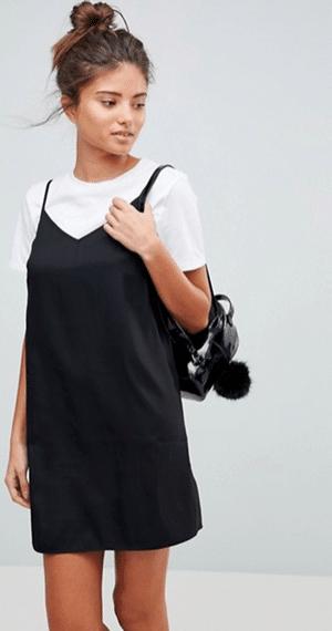 petite robe noire droite