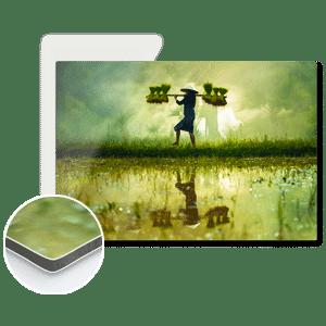 imprimer photo sur aluminium