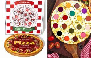 Tu peux maintenant t'acheter une palette en l'honneur de la PIZZA