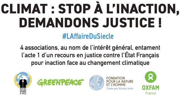 Peut-on attaquer l'Etat en justice pour inaction climatique ?