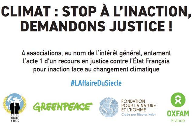 Peut-on attaquer l'Etat en justice pour inaction climatique ? — C'est pour bientôt