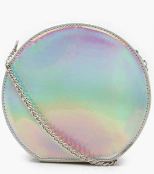 sac rond holographique