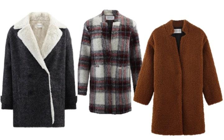 Sélection de gros manteaux pour l'hiver en soldes !