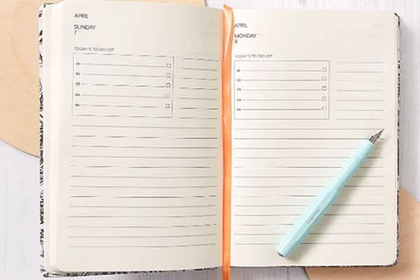 joli agenda 2019 pratique journalier