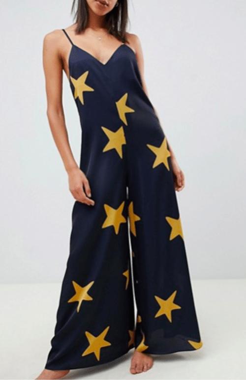 combi pyjama étoiles