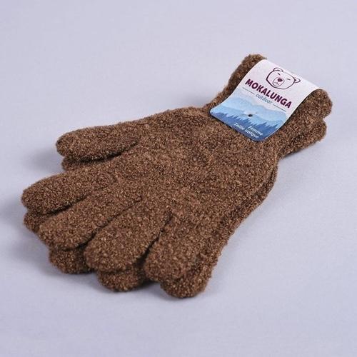 gants marrons