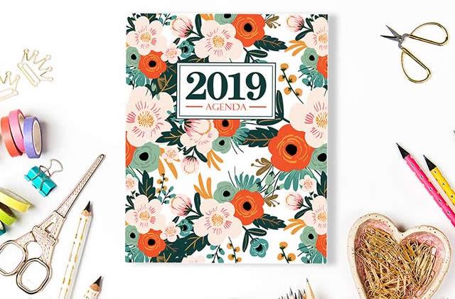 7 agendas pour t'accompagner tout au long de 2019