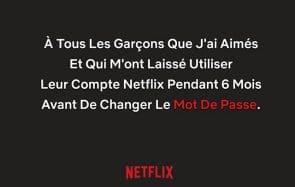 Bonne nouvelle, le partage de compte Netflix restera possible!
