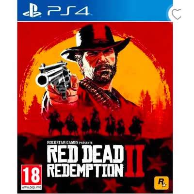 red dead redemption 2 ps4 soldes