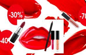 Profite des soldes pour t'offrir un rouge à lèvres!