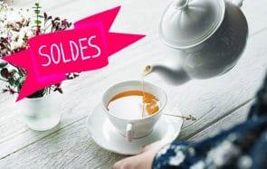 Sélection de théières et de tasses pour te réchauffer en douceur