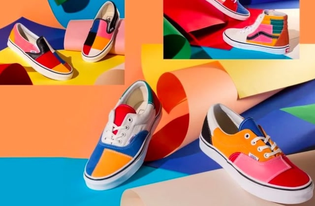 Mets de la couleur sur tes pieds avec les Vans Patchwork!