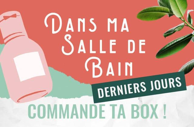 [BOX] Derniers jours pour commander 7 objets utiles de salle de bain à 22,90€ seulement !