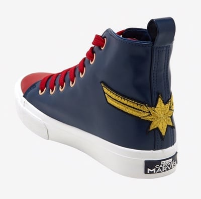 chaussures captain marvel