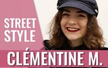 Élise et son look coloré contre la grisaille — Speed Style