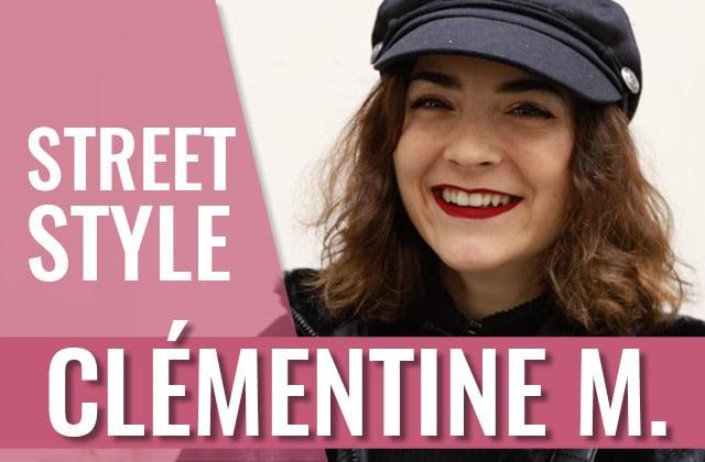 Découvre la fraîcheur de Clémentine M. en Street Style!