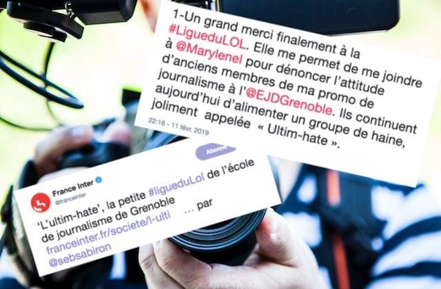 Ligue Du LOL: Ligue Du LOL Harcèlement De Journalistes : Appel à Témoins