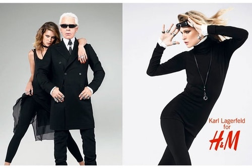 Karl Lagerfeld Chanel h&m
