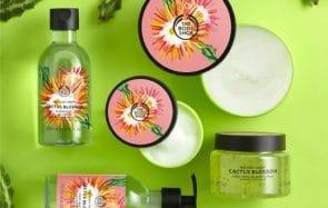 The Body Shop a plus d'une nouveauté dans son sac à l'approche du printemps