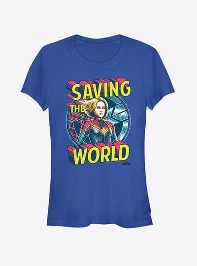 t shirt captain marvel