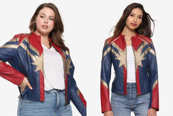 veste captain marvel