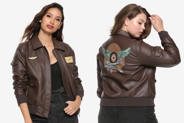 veste aviateur captain marvel
