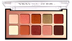 NYX palette away we glow